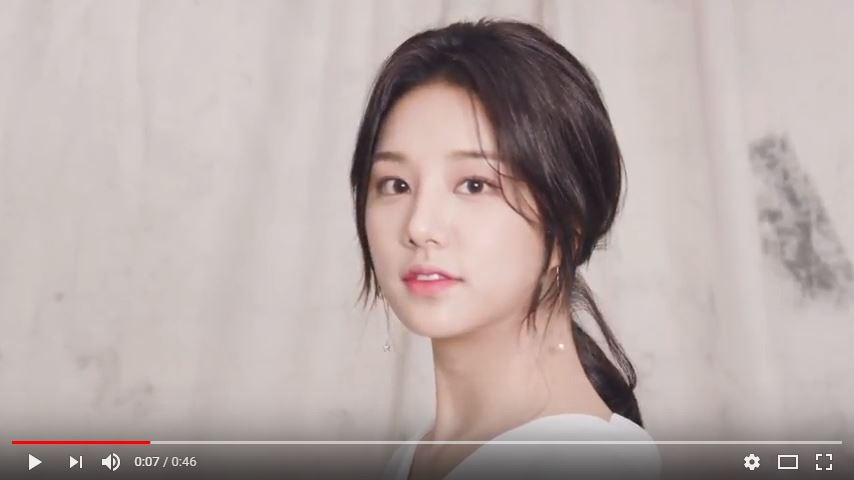 ★making film 03. SOLBIN EYE CONTACT
